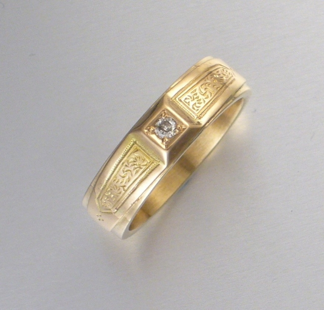Lähes 130-vuotta vanha sormus käyttökuntoon